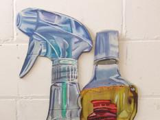 Botttle cardboard painting.jpg