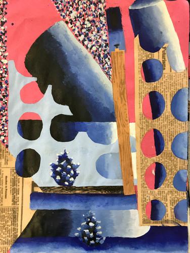 Y9 Cubist Still Life