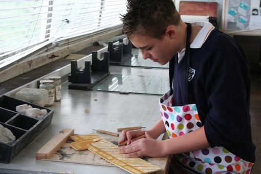 Woodcut Printmaking Brighton University