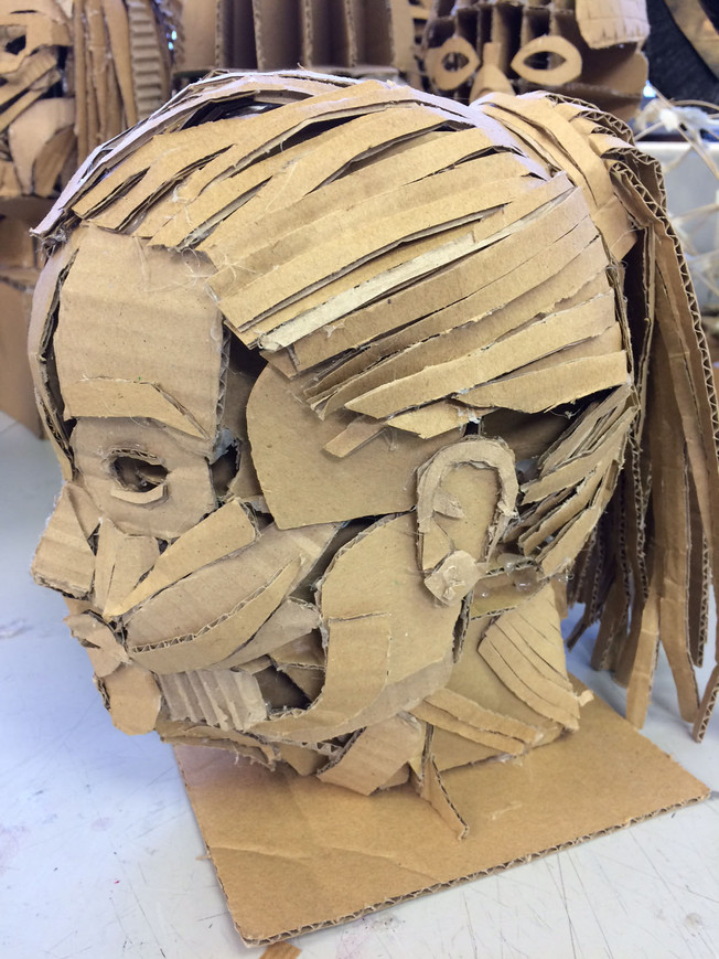 Y10 Constructed Self Portraits