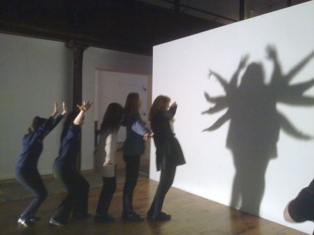 Shadow Play at Fabrica