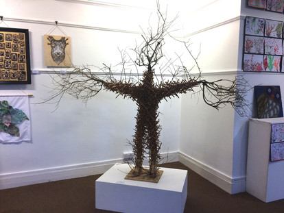 Exhibition View at the Grange Rottingdean
