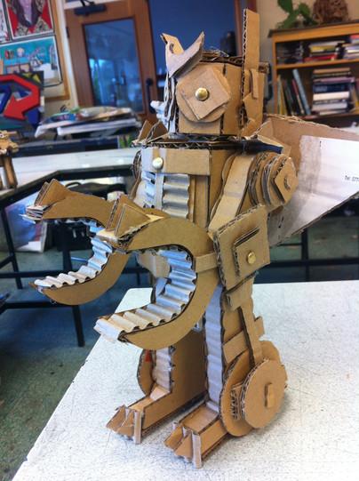 Y9 Paolozzi Robots