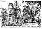 Lusthus. Trädgårdförening