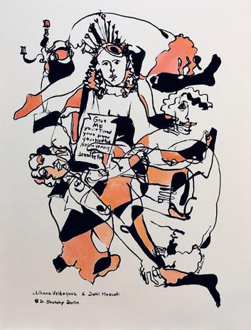 2020, Inkling_Dr. Sketchy_Berlin