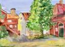 Hållgården, Gamla Linköping