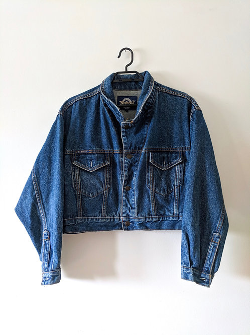 Vintage Orogo Brown's Blue Jeans Jean Jacket