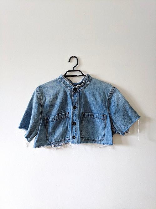 Vintage Lucky Brand Jean Shirt