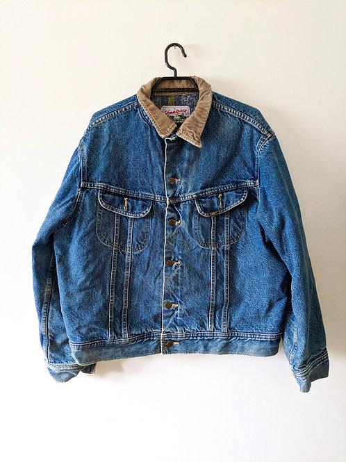 "Vintage Lee ""Storm Rider""Lined Jean Jacket"