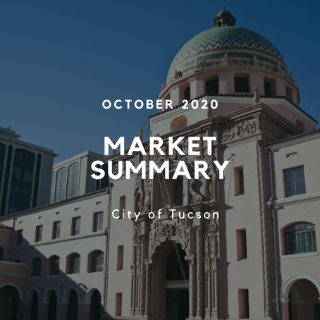 Local Market Insights | City of Tucson | October 2020