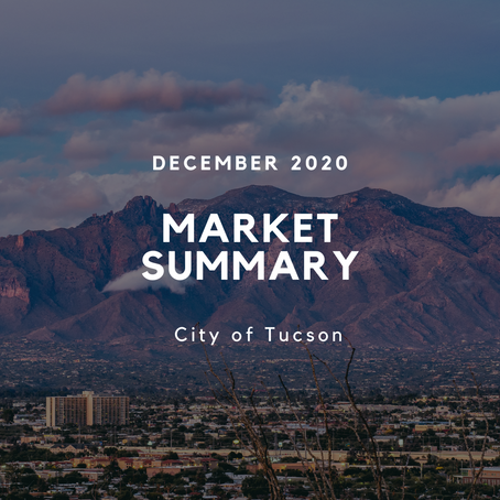 Local Market Insights | City of Tucson | December 2020