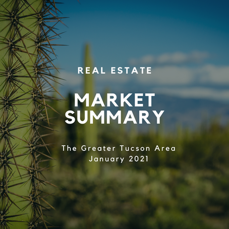 Local Market Insights | City of Tucson | January 2021