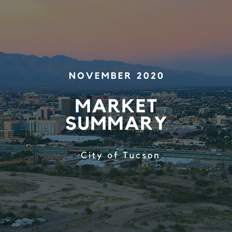 Local Market Insights | City of Tucson | November 2020
