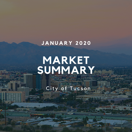 Local Market Insights | City of Tucson | January 2020