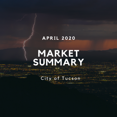 Local Market Insights | City of Tucson | April 2020