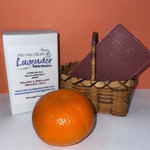Blood Orange Bergamot Bar Soap