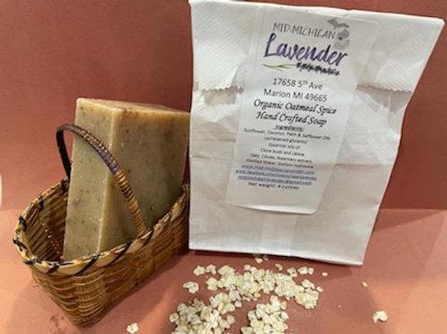 Organic Oatmeal Spice Soap