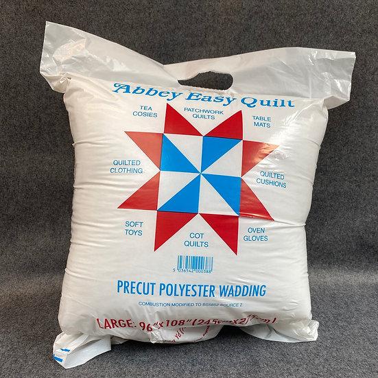 Pre-Cut Polyester Wadding Packs 2 oz / 70 gm