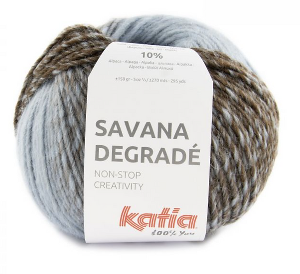 Katia Savana Degradé Yarn