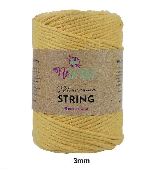 ReTwisst Macrame String 3mm & 5mm