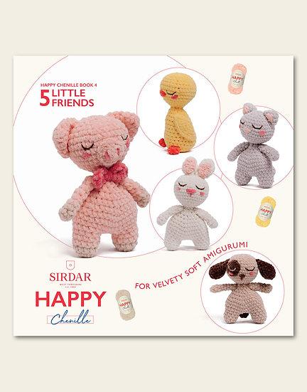 Sirdar Happy Chenille Little Friends Pattern Book