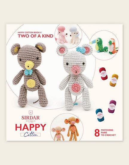Sirdar Happy Cotton Two of a Kind 2 Pattern Book