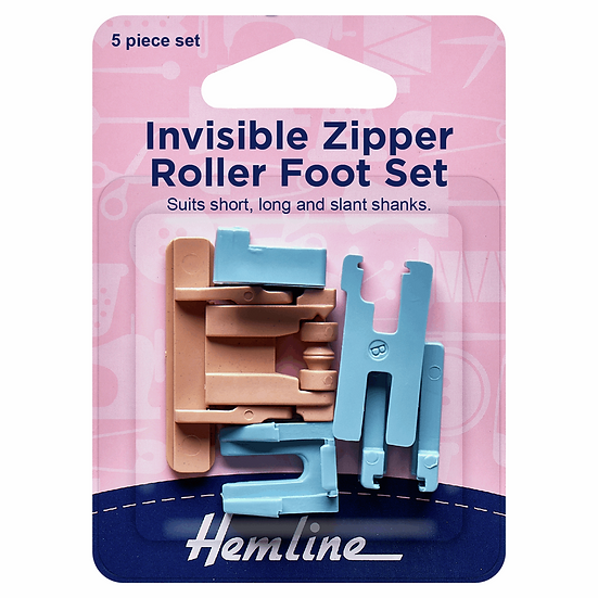 Invisible Zipper Roller Set Hemline