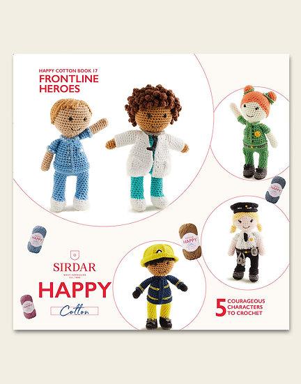 Sirdar Happy Cotton Frontline Heroes Pattern Book