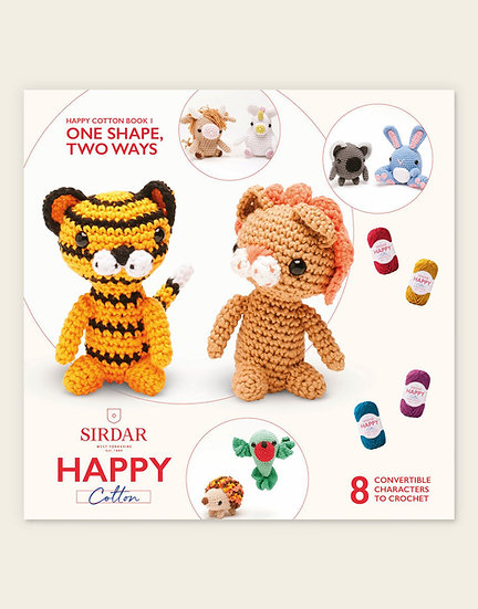 Sirdar Happy Cotton One Shape Two Ways Pattern Book