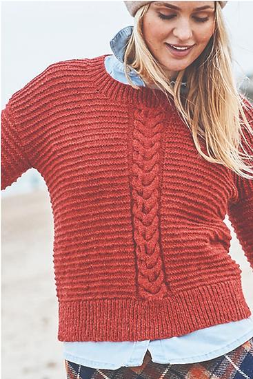 Stylecraft Highland Heathers Round & Polo Neck Sweaters Pattern 9863