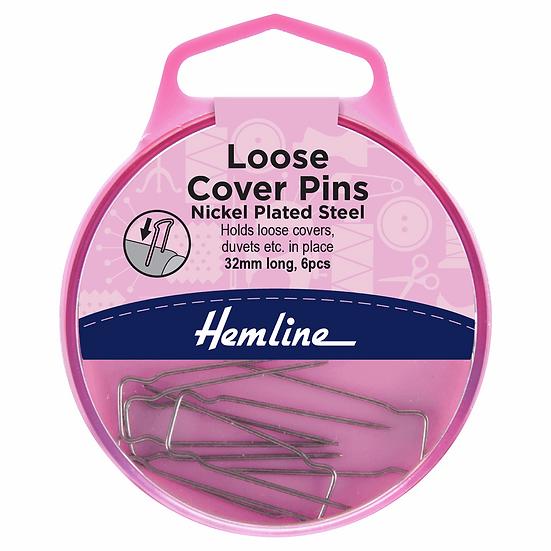 Loose Cover Pins Hemline