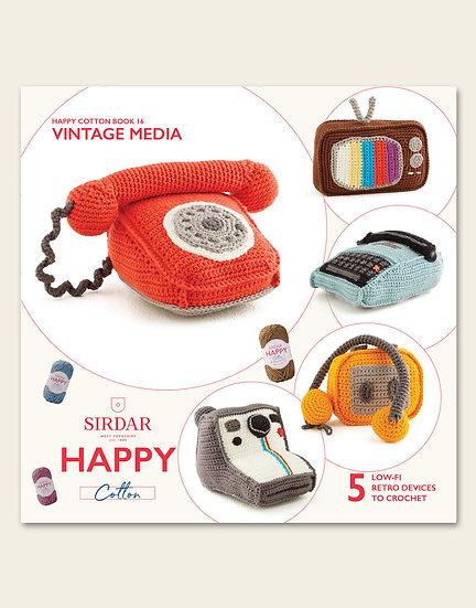 Sirdar Happy Cotton Vintage Media Pattern Book