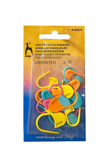 Pony Safety Stitch Markers