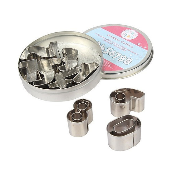 Cake Star Metal Number Cutters