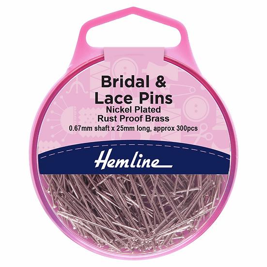 Bridal & Lace Pins Hemline
