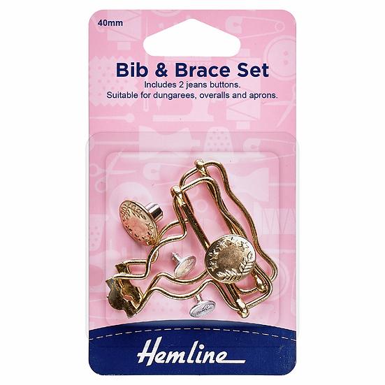 Bib and Brace Set Hemline