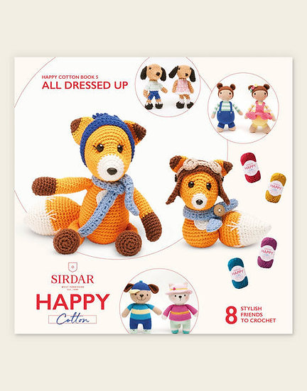 Sirdar Happy Cotton All Dressed Up 1 Book