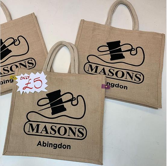 Masons Hessian Shopper Bag