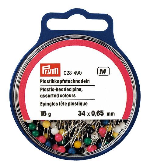 Prym Plastic-headed Pins