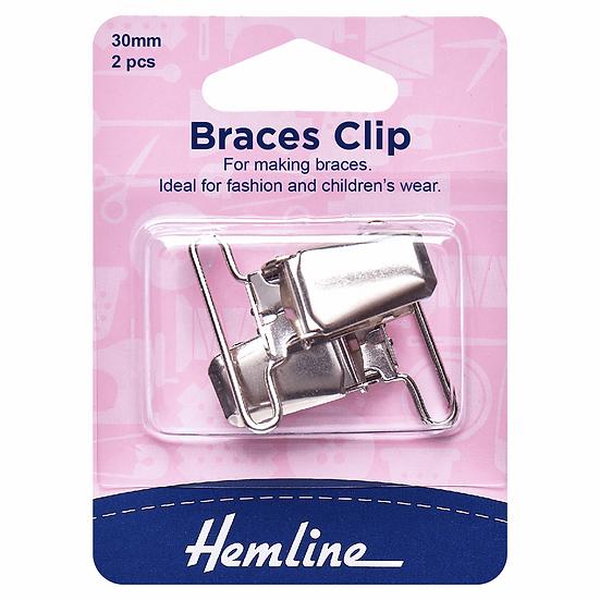 Braces Clips Hemline