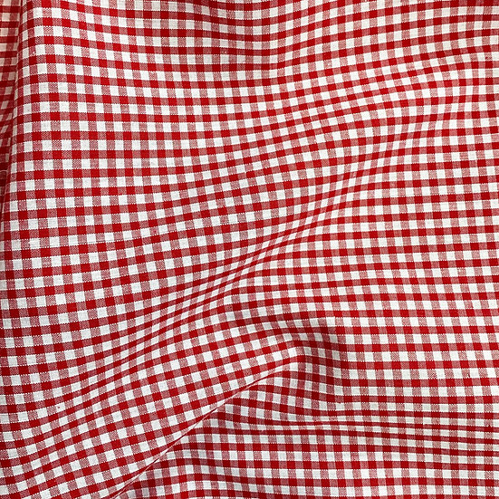 "Gingham Fabric 1/8"""