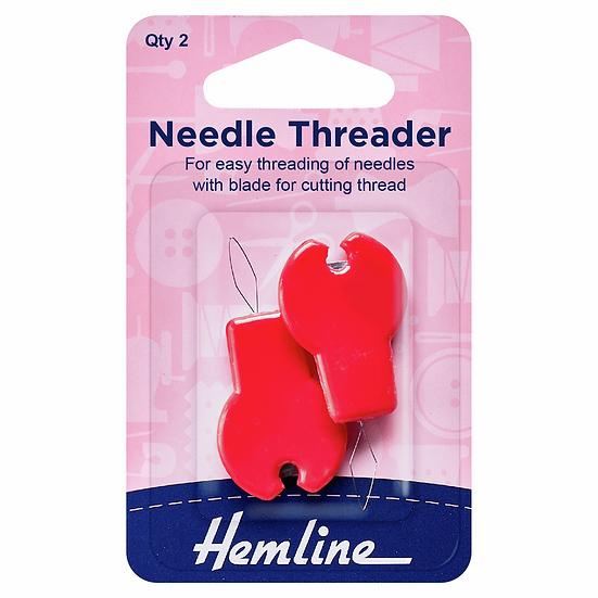 Needle Threader with Cutter Hemline