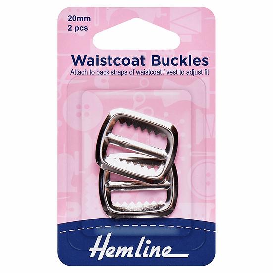 Waistcoat Buckle Hemline