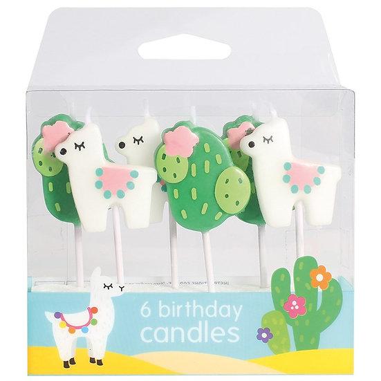 Llama Candles