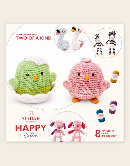 Sirdar Happy Cotton Two of a Kind 1 Pattern Book