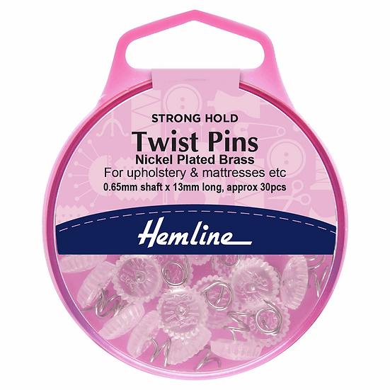 Twist Pins Hemline