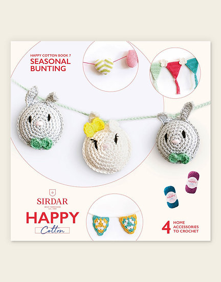 Sirdar Happy Cotton Seasonal Bunting 1 Book