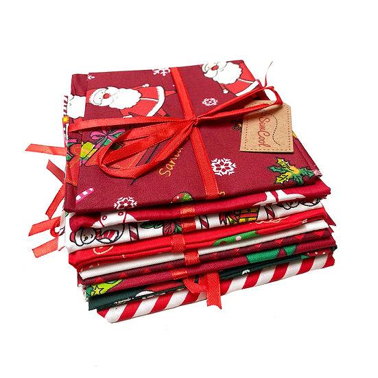 Christmas Fabric Squares