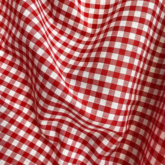 "Gingham Fabric 1/4"""
