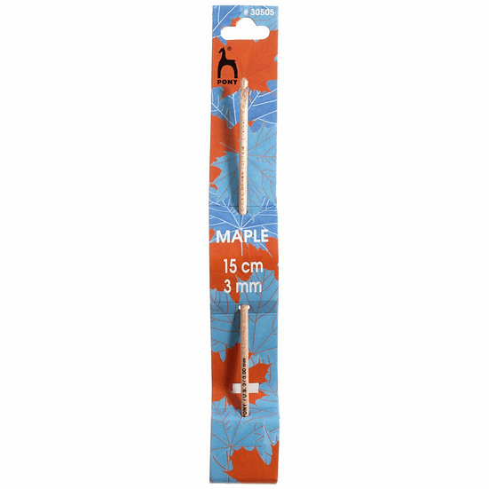 Pony Maple Crochet Hooks